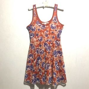 American Rag Dress, knee length, Floral SZ L